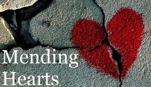 The pain of a heartbreak