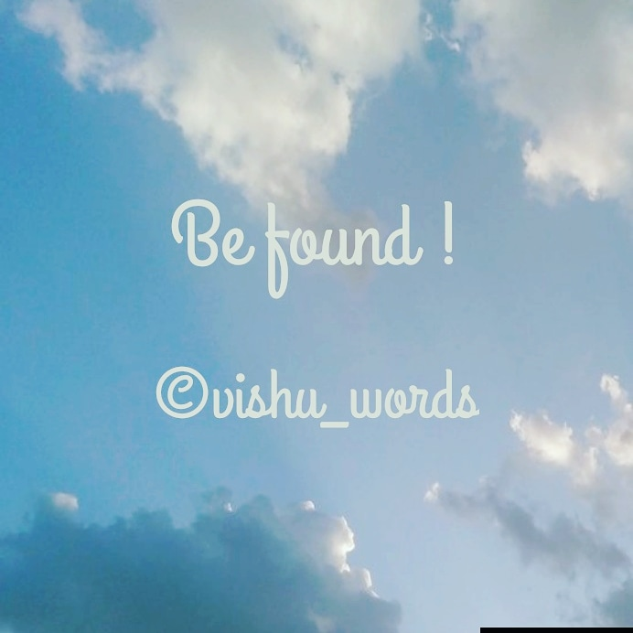 Be_found say's!